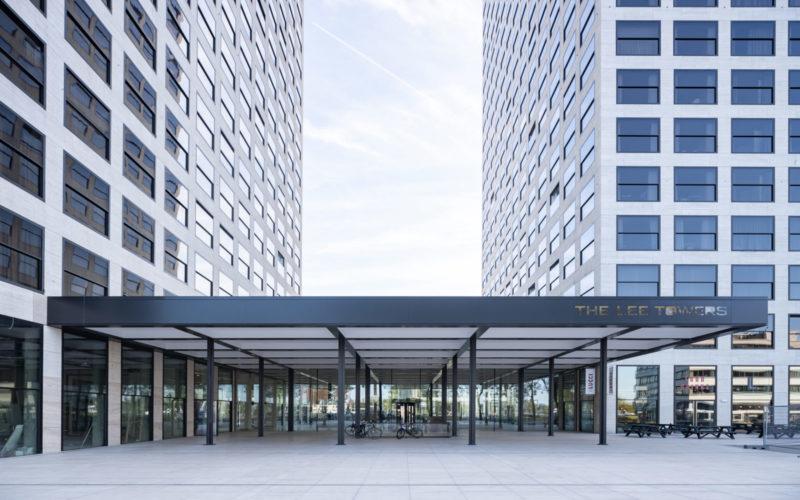 Lee Towers entree Rotterdam