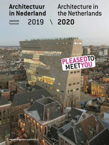 Cover jaarboek architectuur in Nederlan 2019-20