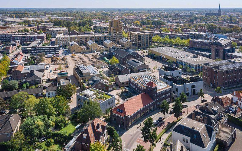 Luchtfoto NRE terrein Eindhoven, Mitchell van Eijk